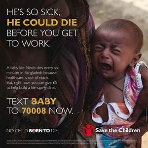 Appeal Writing Example Save A Child Ad Very Sad Example Of Vivid Appeal