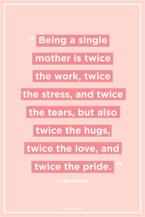 single mom quotes   single mother sayings
