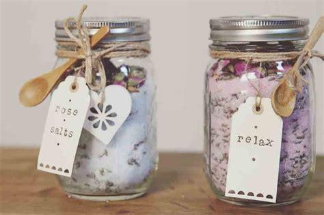 craft corner     mason jar bath salts ideal home