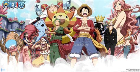 One Piece Anime Nico Robin Roronoa Zoro Chopper