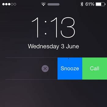 iphone lock screen notifications use siri to create interactive reminders with contact call