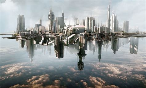 creative  realistic matte paintings
