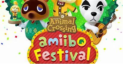 Crossing Animal Festival Amiibo Clipart Wii Banner
