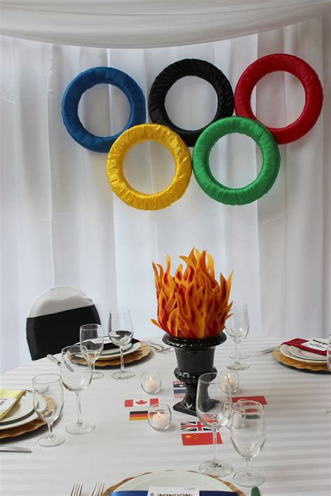 olympic themed    projects special event