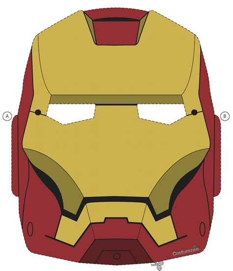 Ironman Mask Template by 28 Images Of Iron Helmet Template Printable Tonibest