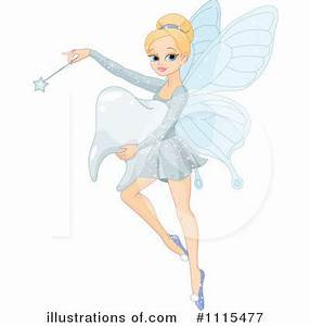 Tooth Fairy Clipart #1115477 - Illustration by Pushkin