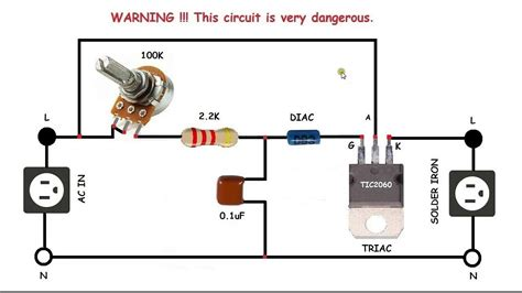 Motor Speed Control Circuit How Make Single Phase