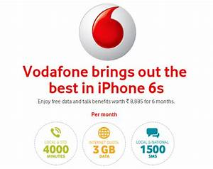 Gefälschte Vodafone Rechnung Per Post : vodafone iphone 6s plan offers 4000 minutes 3gb data worth rs 8885 for free ~ Themetempest.com Abrechnung