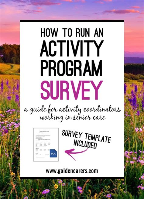 conduct  activities survey