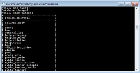 mysql show table contents mysql tutorial 4 selecting database and table durofy