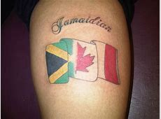 Canadian + Jamaican = Jamaidian Tattoos Pinterest