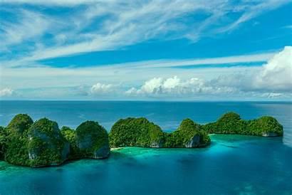 Islands Indonesia Ampat Raja Wayag Papua West
