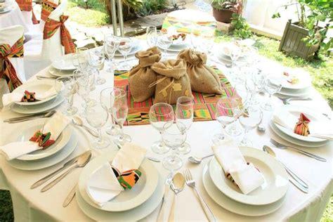 deco de table pour mariage africain mariages africains