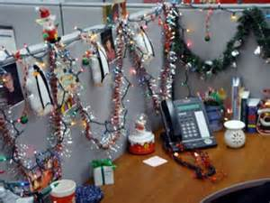 angie s pieces of flair christmas cubicle decorating contest