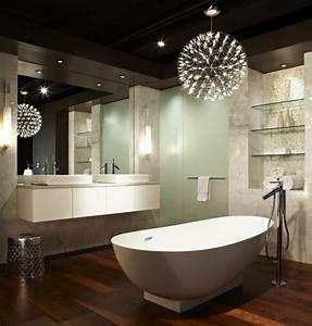Luminaire Salle De Bain Design : salle de bain comment choisir le bon clairage ~ Teatrodelosmanantiales.com Idées de Décoration