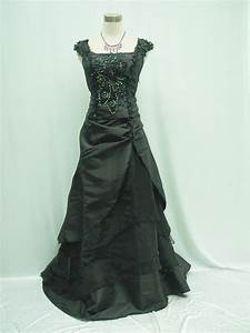 cherlone plus size black long bridesmaid ballgown wedding With black formal dress for wedding