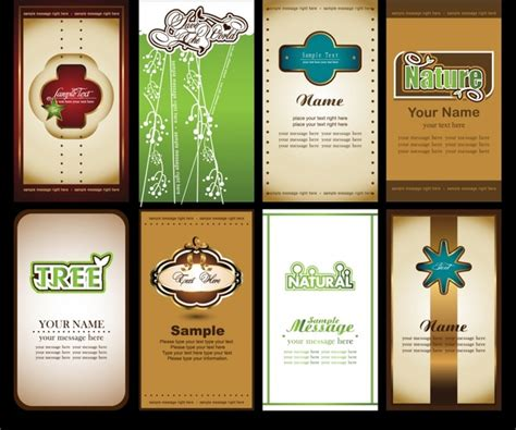 Issue virtual and physical branded cards that will fit your business requirements. Card cover templates elegant classical vertical design Free vector in Encapsulated PostScript ...