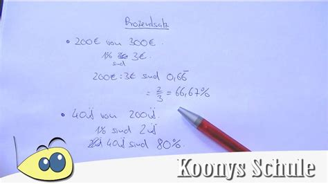 wie berechnet man den prozentsatz prozentsatz berechnen