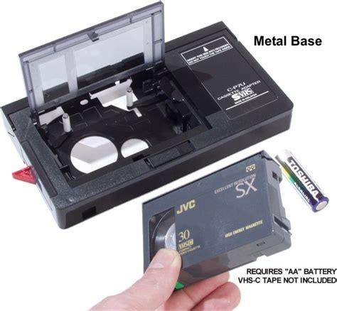 Vhs Cassette by El303e Cassette Adaptor Vhs C Vcr Parts Wagner