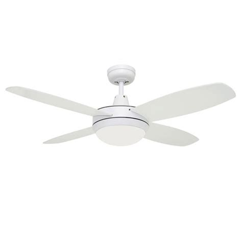 small white ceiling fan lifestyle mini ceiling fan with light in white 42