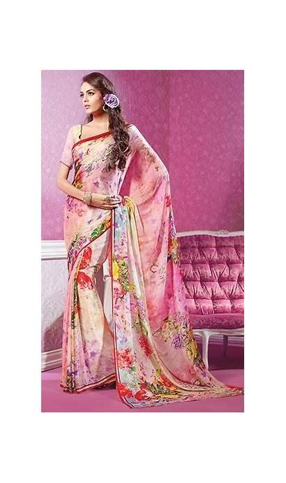 Floral Sarees Saree Designs Fall Why Indiabazaaronline