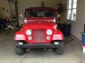 Purchase Used 1985 Jeep Cj7 4 2l 6 Cyl Manual Trans In