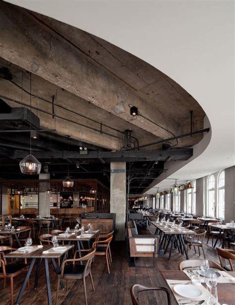 industrial cafe interior design modern restaurant interior and exterior design ideas Modern