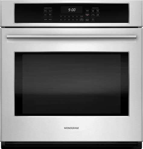 monogram  electric single wall oven zekshss ge appliances