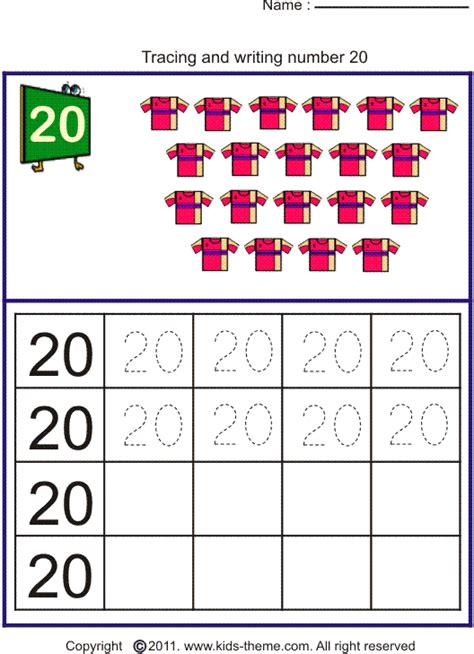 numbers 1 20 worksheets for preschoolers tracing numbers 1 20 for preschoolers worksheets for all 362