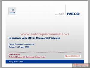 Iveco Experience With Scr In Truck  U0026 Commercial Vehicles