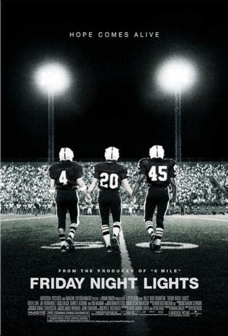 Friday Night Lights Production Notes 2004 Movie Releases