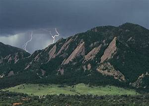 The Flatirons – Boulder, CO. by William Ervin. It was ...