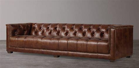 Restoration Hardware Lancaster Sofa Look Alike by Restoration Hardware Leather Sofa For Sale Rooms