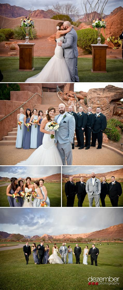 brandon amy st george wedding photographers