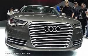 Audi A6 Hybride : concept hybride rechargeable l 39 audi a6 l e tron ~ Medecine-chirurgie-esthetiques.com Avis de Voitures
