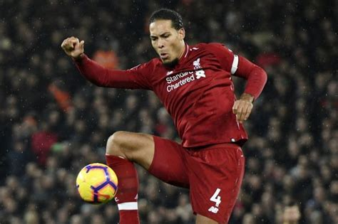 Virgil van dijk of liverpool reacts after the premier league match between manchester united and liverpool fc at old trafford on february 24, 2019 in manchester, united kingdom. Virgil van Dijk could play in Liverpool midfield - and ...