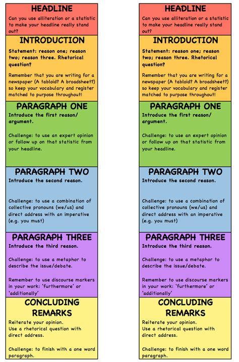Question 5 english language paper 2 2019. Structure Strips - Language Paper 2, Question 5 - Escapades in Teaching