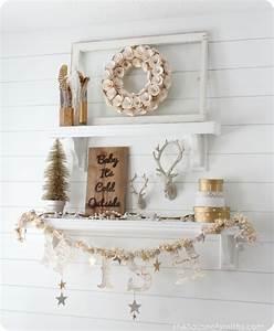 Winter, Mantel, And, Winter, Shelf, Decorating, Ideas
