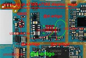 Samsung Galaxy Trend S7560 Lcd Display Ic Solution Jumper
