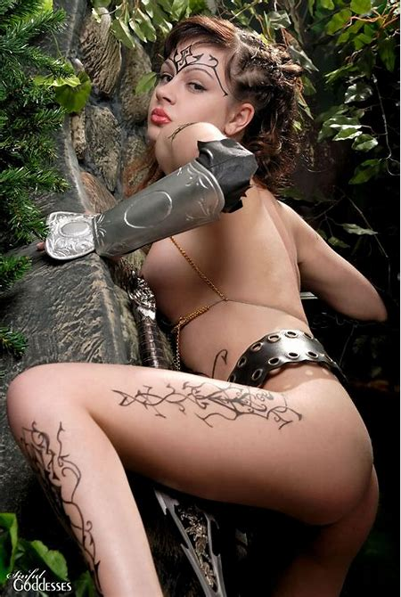 Erotic Female Warrior