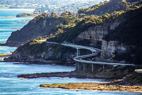 Sea Cliff Bridge Clifton Australia Grand Pacific Drive