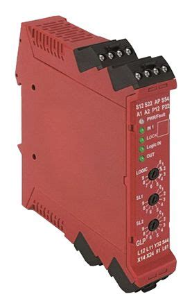 440r gl2s2p glp configurable safety relay dual channel 24 v dc 1 safety 1 auxiliary