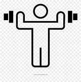 Coloring Dumbbells Clipart Pinclipart sketch template