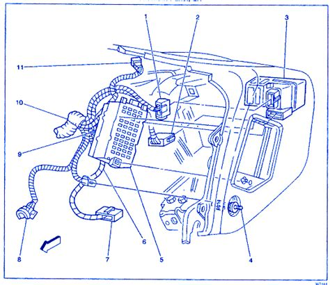 Gmc Jimmy Instrument Electrical Circuit Wiring