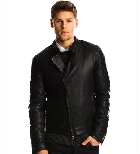 jacket moto arrow new leather moto jacket