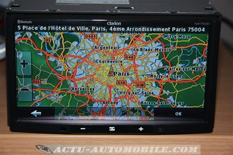 clarion nxe  gps  systeme multimedia complet