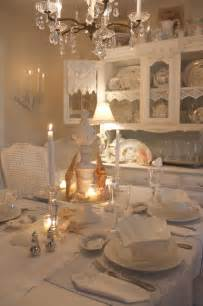 shabby chic dining room lighting romantic cottage
