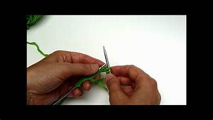 How To Cast On Double Pointed Needles Version 1 Youtube
