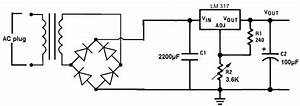 Ac To Dc Power Supply Circuit Diagram