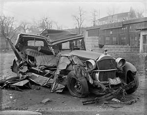 Vintage Photos of Car Crashes Flavorwire